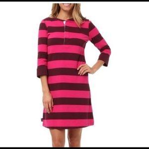 Patagonia Henley Striped Dress Size Medium